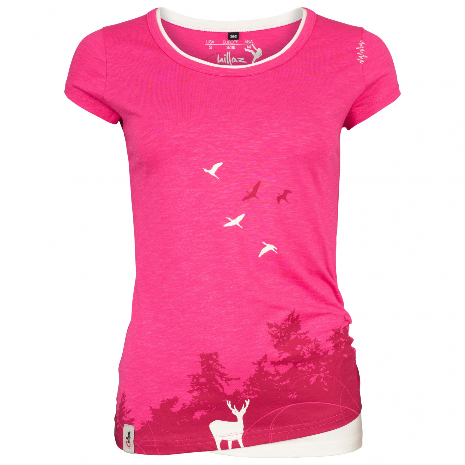 chillaz-womens-fancy-deer-t-shirt